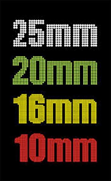 LedXtra - LED Displays - Hoe maken de leds alle kleuen