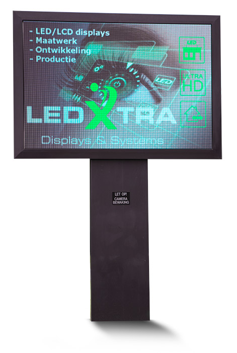 LedXtra - LED Displays - Mastscherm - vrijstaand