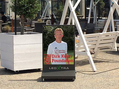 LedXtra - LED Displays - Digitaal LED Stoepbord