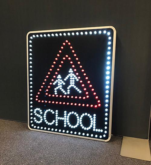 LedXtra - LED Displays - Dynamische verkeersborden - Matrixborden4