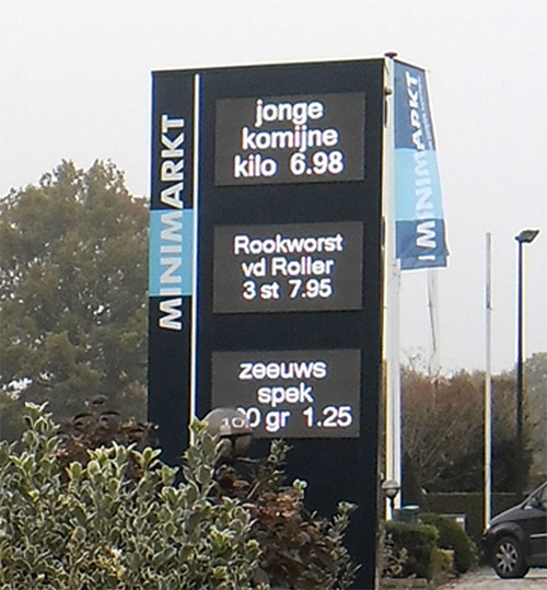 LedXtra - LED Displays - Reclamezuil