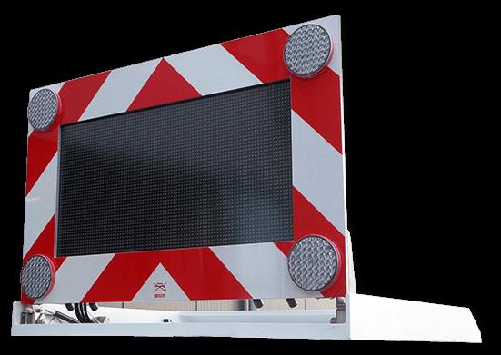LedXtra - LED Displays - Signalering Systeem - MAVITD - vrijstaand